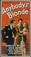 Anybody's Blonde movie poster (1931) picture MOV_bef9ae58
