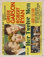 Her Twelve Men movie poster (1954) picture MOV_bf0ff38a