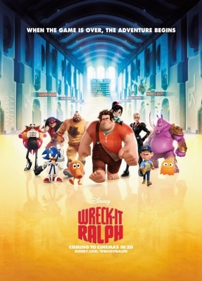 Wreck-It Ralph movie poster (2012) poster MOV_bf1a2011