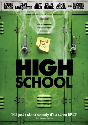 High School movie poster (2010) poster MOV_bf289443
