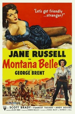 Montana Belle movie poster (1952) poster MOV_bf3fde9b