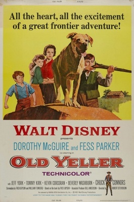 Old Yeller movie poster (1957) poster MOV_bf4de629