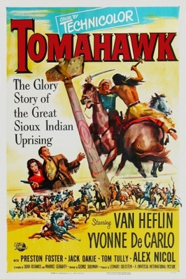 Tomahawk movie poster (1951) poster MOV_bf53fb4d