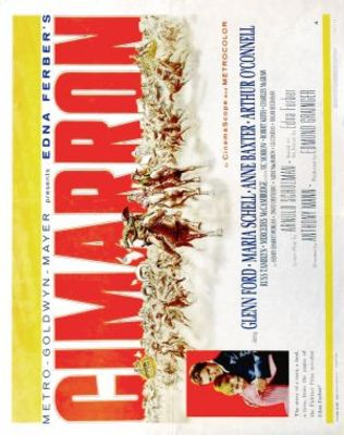 Cimarron movie poster (1960) poster MOV_bf6de14d