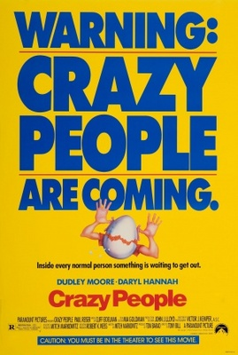 Crazy People movie poster (1990) poster MOV_bf80e18f