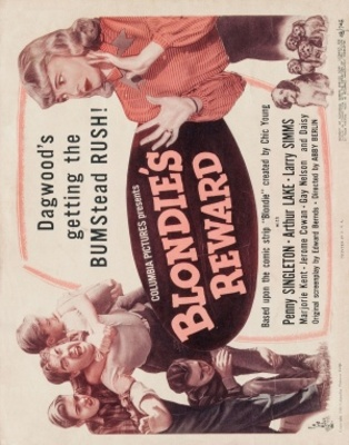 Blondie's Reward movie poster (1948) poster MOV_bf8942e3