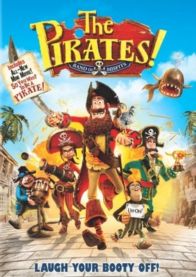 The Pirates! Band of Misfits movie poster (2012) poster MOV_bf8dbcd9