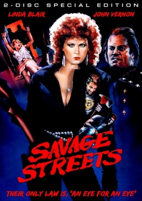 Savage Streets movie poster (1984) poster MOV_bf9acc46