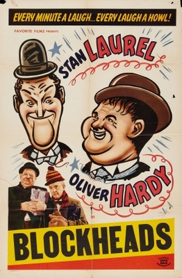 Block-Heads movie poster (1938) poster MOV_bfac5dba