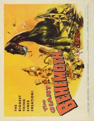 Behemoth, the Sea Monster movie poster (1959) poster MOV_bfada510