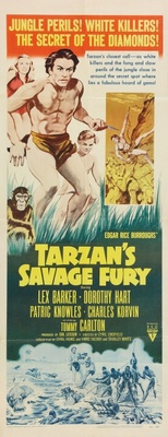 Tarzan's Savage Fury movie poster (1952) poster MOV_bfb1fea8