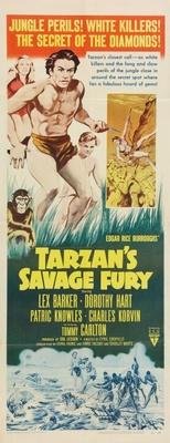 Tarzan's Savage Fury movie poster (1952) poster MOV_bfb1fea8