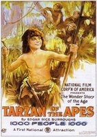 Tarzan of the Apes movie poster (1918) picture MOV_bfb3b6e7