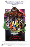 The Black Cauldron movie poster (1985) picture MOV_bfb6e7bf