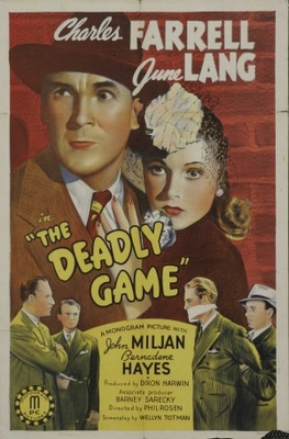 The Deadly Game movie poster (1941) poster MOV_bfc587b9