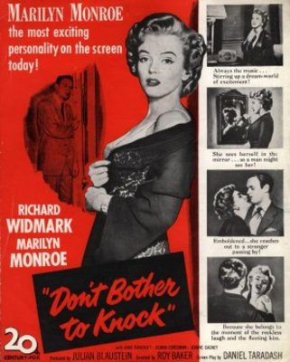 Don't Bother to Knock movie poster (1952) poster MOV_bfde5ad7
