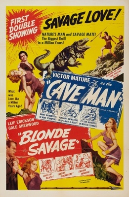 Blonde Savage movie poster (1947) poster MOV_bff40b5a