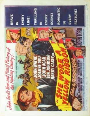 She Wore a Yellow Ribbon movie poster (1949) poster MOV_c00385c4