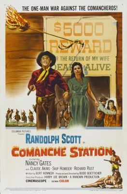 Comanche Station movie poster (1960) poster MOV_c05f5ae9