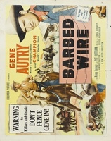 Barbed Wire movie poster (1952) picture MOV_c07028f3