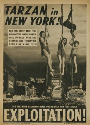 Tarzan's New York Adventure movie poster (1942) poster MOV_c0db1e78