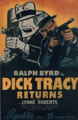 Dick Tracy Returns movie poster (1938) poster MOV_c0f68d8e