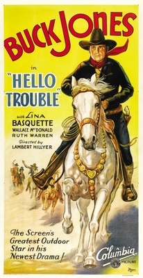 Hello Trouble movie poster (1932) poster MOV_c11d5f70