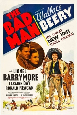 The Bad Man movie poster (1941) poster MOV_c16c7724
