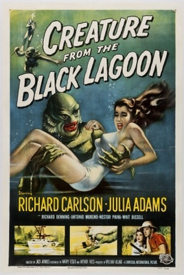 Creature from the Black Lagoon movie poster (1954) poster MOV_c17351f2