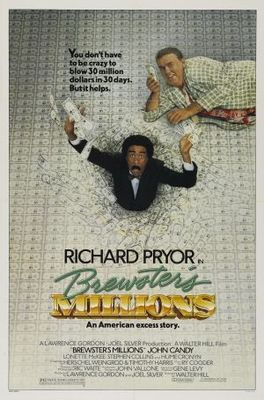 Brewster's Millions movie poster (1985) poster MOV_c1735835