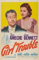 Girl Trouble movie poster (1942) picture MOV_c1773787