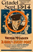 A Girl in Every Port movie poster (1928) picture MOV_c183d921