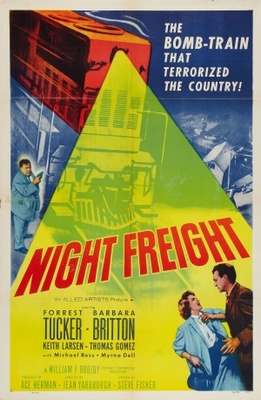 Night Freight movie poster (1955) poster MOV_c191ccf6