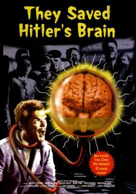 They Saved Hitler's Brain movie poster (1963) poster MOV_c1a4df88