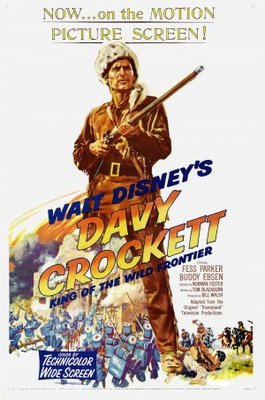Davy Crockett, King of the Wild Frontier movie poster (1954) poster MOV_c1affe6f