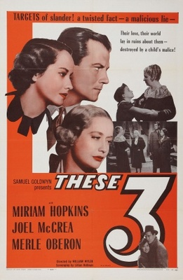 These Three movie poster (1936) poster MOV_c1cb8699