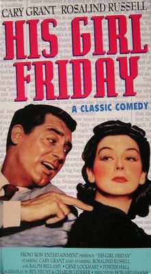 His Girl Friday movie poster (1940) poster MOV_c20224af