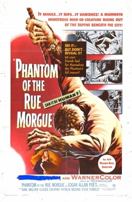 Phantom of the Rue Morgue movie poster (1954) poster MOV_c2194efe