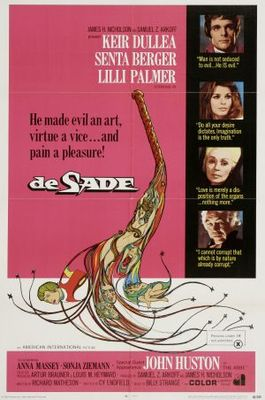De Sade movie poster (1969) poster MOV_c2253f7e