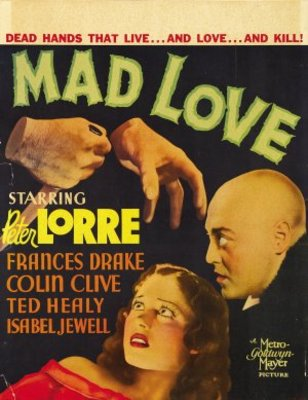 Mad Love movie poster (1935) poster MOV_c225f92d