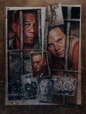 The Shawshank Redemption movie poster (1994) poster MOV_c22da21b