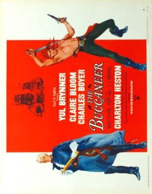 The Buccaneer movie poster (1958) poster MOV_c236c410