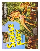 Savage Fury movie poster (1956) picture MOV_b7a0c85c