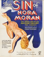 The Sin of Nora Moran movie poster (1933) picture MOV_c256f4c4