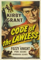 Code of the Lawless movie poster (1945) picture MOV_c275b690