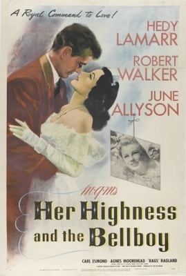 Her Highness and the Bellboy movie poster (1945) poster MOV_c289d22f