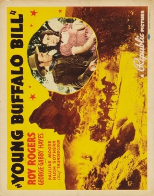 Young Buffalo Bill movie poster (1940) poster MOV_c290bd18