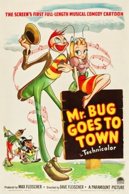Mr. Bug Goes to Town movie poster (1941) poster MOV_c2a70fa3