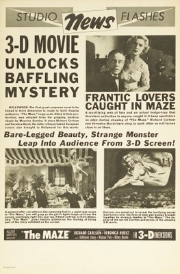 The Maze movie poster (1953) poster MOV_c2dbcf4b