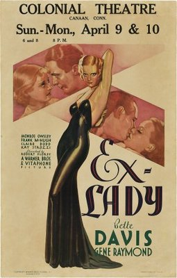 Ex-Lady movie poster (1933) poster MOV_c2e3f7b8